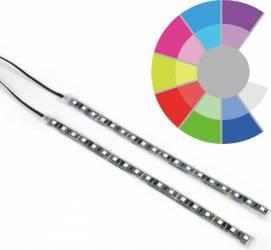 Kit iluminare PC SilentiumPC Aurora 2 Remote RGB-302