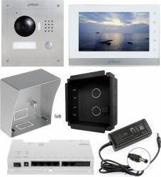 Kit Interfon video Dahua DHI-VTKB cu ecran LCD de 7 inch Videointerfoane