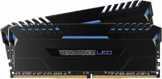 Kit Memorie Corsair Vengeance 2x16GB DDR4 3200MHz C16 Blue LED Dual Channel memorii