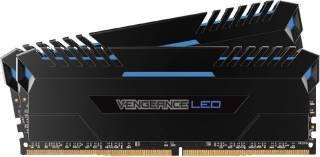Kit Memorie Corsair Vengeance 2x8GB DDR4 3200MHz C16 Blue LED Dual Channel Memorii