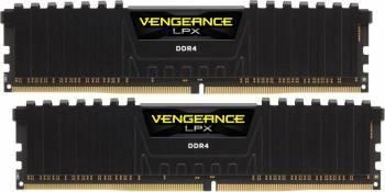 Kit Memorie Corsair Vengeance LPX Black 2x8GB DDR4 2400MHz CL14 Dual Channel memorii