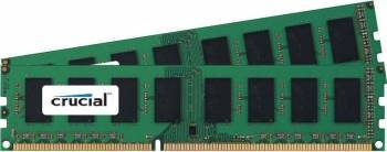 Kit Memorie Crucial ECC RDIMM 2x8GB DDR3 1600MHz CL11 Dual Ranked x8 Memorii Server