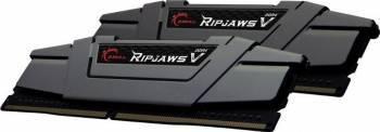 Kit Memorie G.Skill RipjawsV Black 2x8GB DDR4 3200MHz CL16 Dual Channel Memorii