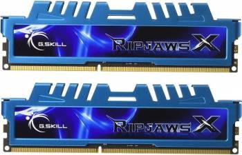 Kit Memorie G.Skill RipjawsX Blue 2x4GB DDR3 2133MHz CL9 Dual Channel Memorii