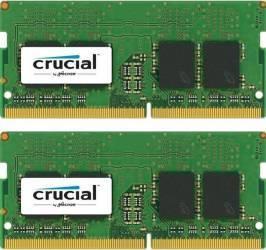 Kit Memorie Laptop Crucial 2x8GB DDR4 2133MHz CL15 Memorii Laptop