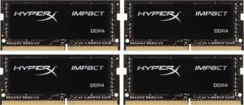 Kit Memorie Laptop Kingston HyperX Impact 4x4GB DDR4 2133MHz CL14 1.2v Quad Channel Memorii Laptop