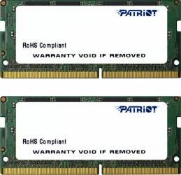 Kit Memorie Laptop Patriot Signature 2x8GB DDR4 2133MHz CL15 Dual Channel Memorii Laptop