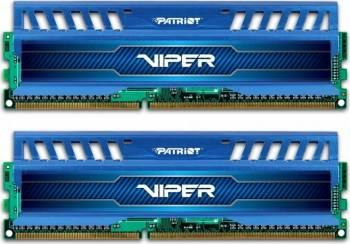 Kit Memorie Patriot Viper 3 2x8GB DDR3 1600MHz CL9 Blue Memorii