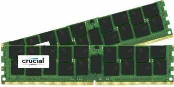 Kit Memorie Server Crucial ECC RDIMM 2x32GB DDR4 2133Mhz CL15 Dual Rank x4 Memorii Server