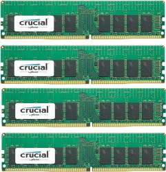 Kit Memorie Server Crucial ECC RDIMM 4x16GB DDR4 2400MHz CL17 Single Rank x4 Quad Channel Memorii Server