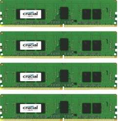 Kit Memorie Server Crucial ECC RDIMM 4x4GB DDR4 2400MHz CL17 Single Rank x8 Quad Channel Memorii Server