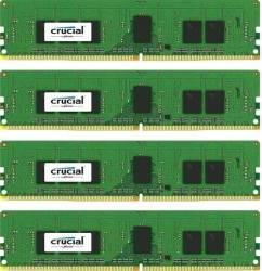 Kit Memorie Server Crucial ECC RDIMM 4x8GB DDR4 2400MHz CL17 Single Rank x8 Quad Channel Memorii Server