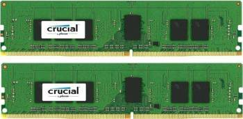 Kit Memorie Server Crucial ECC UDIMM 2x4GB DDR4 2133MHz CL15 Single Rank x8 Memorii Server