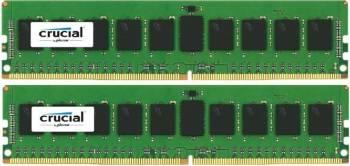 Kit Memorie Server Crucial ECC UDIMM 2x8GB DDR4 2133MHz CL15 Dual Rank x8 Memorii Server