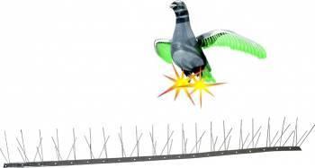 Kit Pestmaster Anti-pasari Inox cu 60 tepi Combaterea daunatorilor