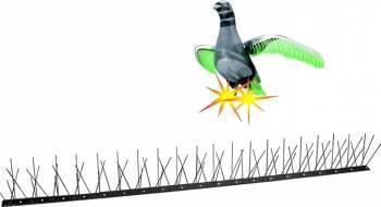 Kit Pestmaster Anti-pasari Inox cu 80 tepi Combaterea daunatorilor