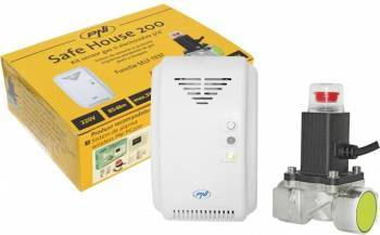 Kit PNI Safe House 200 senzor gaz si electrovalva 3/4 Inch Alarme