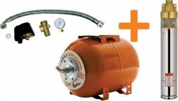Kit Pompa + Hidrofor Dunarea 24 750W Pompe si Motopompe