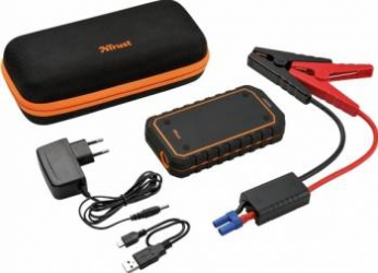 Kit redresare auto Trust Car Jump Starter + Powerbank 10.000 MAH