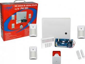 Kit Sistem de Alarma cu fir PNI 205 Alarme