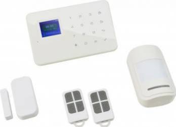 Kit Sistem de Alarma Wireless PNI PG180 comunicator GSM Kit Smart Home si senzori