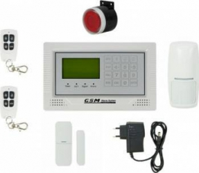 Kit Sistem de Alarma Wireless PNI Safe House PG350 comunicator GSM 2G