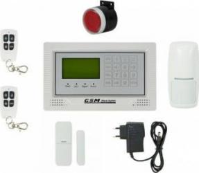 Kit Sistem de Alarma Wireless PNI Safe House PG350 comunicator GSM 2G Alarme