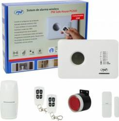Kit Sistem de Alarma Wireless PNI SafeHouse PG300 comunicator GSM 2G
