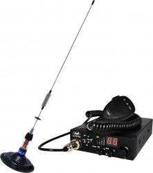 Kit statie radio auto CB PNI Escort HP 8000 ASQ si Antena CB PNI Statii radio