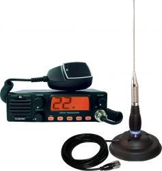 Kit statie radio auto CB TTi TCB-900 si Antena PNI ML100 Statii radio