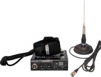 Kit statie radio auto Midland Alan 100 si antena PNI ML100 Statii radio