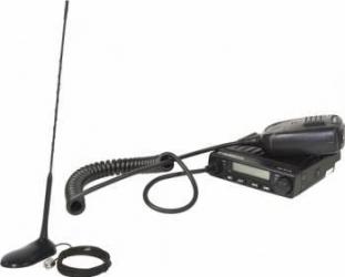 Kit statie radio CB Albrecht AE 6110 ASQ + Antena PNI Extra 45 Statii radio