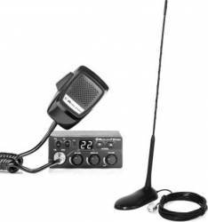 Kit Statie radio CB Midland M Zero Plus + Antena PNI Extra 45 cu magnet Statii radio