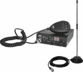 Kit Statie radio CB PNI ESCORT HP 8000L ASQ + Antena CB PNI Extra 40 cu magnet Statii radio