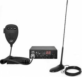 Kit Statie Radio CB PNI ESCORT HP 8000L ASQ + Antena CB PNI Extra 45 cu magnet Statii radio