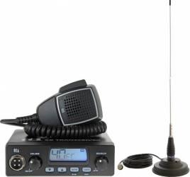 Kit Statie radio CB TTi TCB-550 si Antena PNI ML145 cu magnet Statii radio