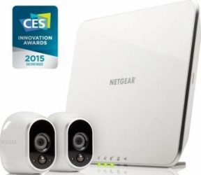Kit supraveghere IP Netgear Arlo VMS3230 2 camere interior exterior Camere de Supraveghere