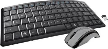 Kit Tastatura + Mouse Trust Curve Wireless