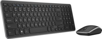 Kit Tastatura + Mouse Wireless Dell KM714 US Qwerty Tastaturi