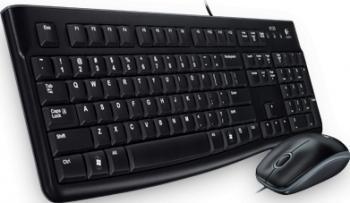 Kit tastatura cu mouse Logitech MK120 USB Black Tastaturi