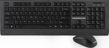 Kit tastatura cu mouse Wireless Modecom MC-6200G Negru Resigilat