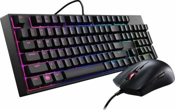 Kit Tastatura+mouse Gaming Cooler Master MasterKeys Lite L Combo Tastaturi Gaming
