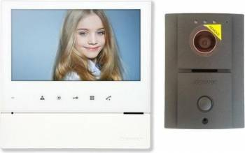 Kit Videointerfon Commax Color cu monitor LCD 7 inch CDV-70H2 Videointerfoane