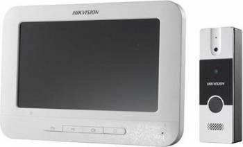 Kit videointerfon Hikvision DS-KIS202 Videointerfoane