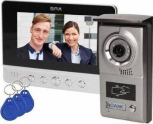 Kit videointerfon ORNO VDP-40 cu cititor etichete de proximitate si ecran de 7 inch Videointerfoane