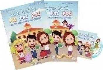 La scoala cu Pic Pac Poc vol.1+2 + CD - Diana Alexandru Andreea Alexandru