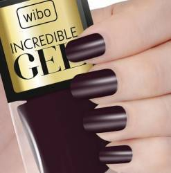 Lac de unghii Wibo 8.5 ml Incredible Gel no.1 Manichiura