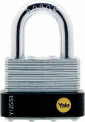Lacat cu cheie Yale Y125501291 50mm Seifuri Lacate Feronerie