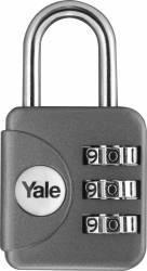 Lacat cu cifru Yale YP1281211 28mm Gri Seifuri Lacate Feronerie