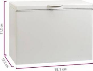 Lada frigorifica Artic OM205+  205L Clasa A+ 91.2 cm Alb Lazi si congelatoare
